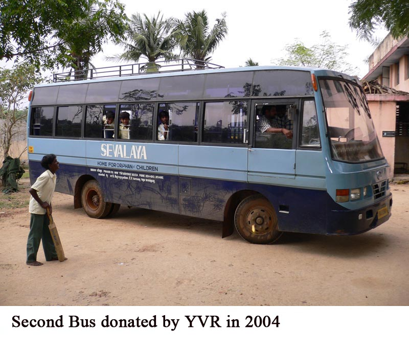 Second Bus donated by YVR in 2004
