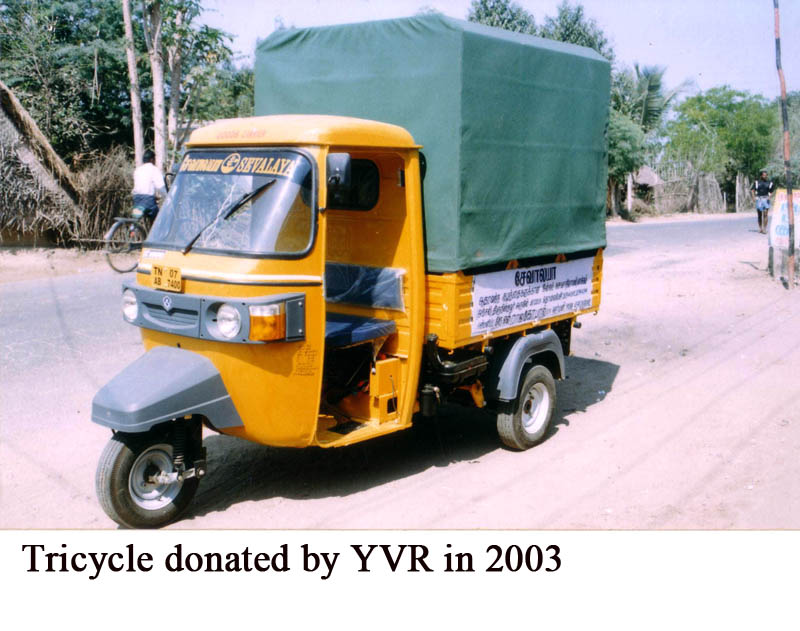 Tricycle donated by YVR in 2003